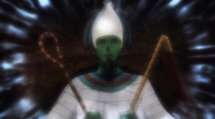 Egyptian god of the dead, Osiris