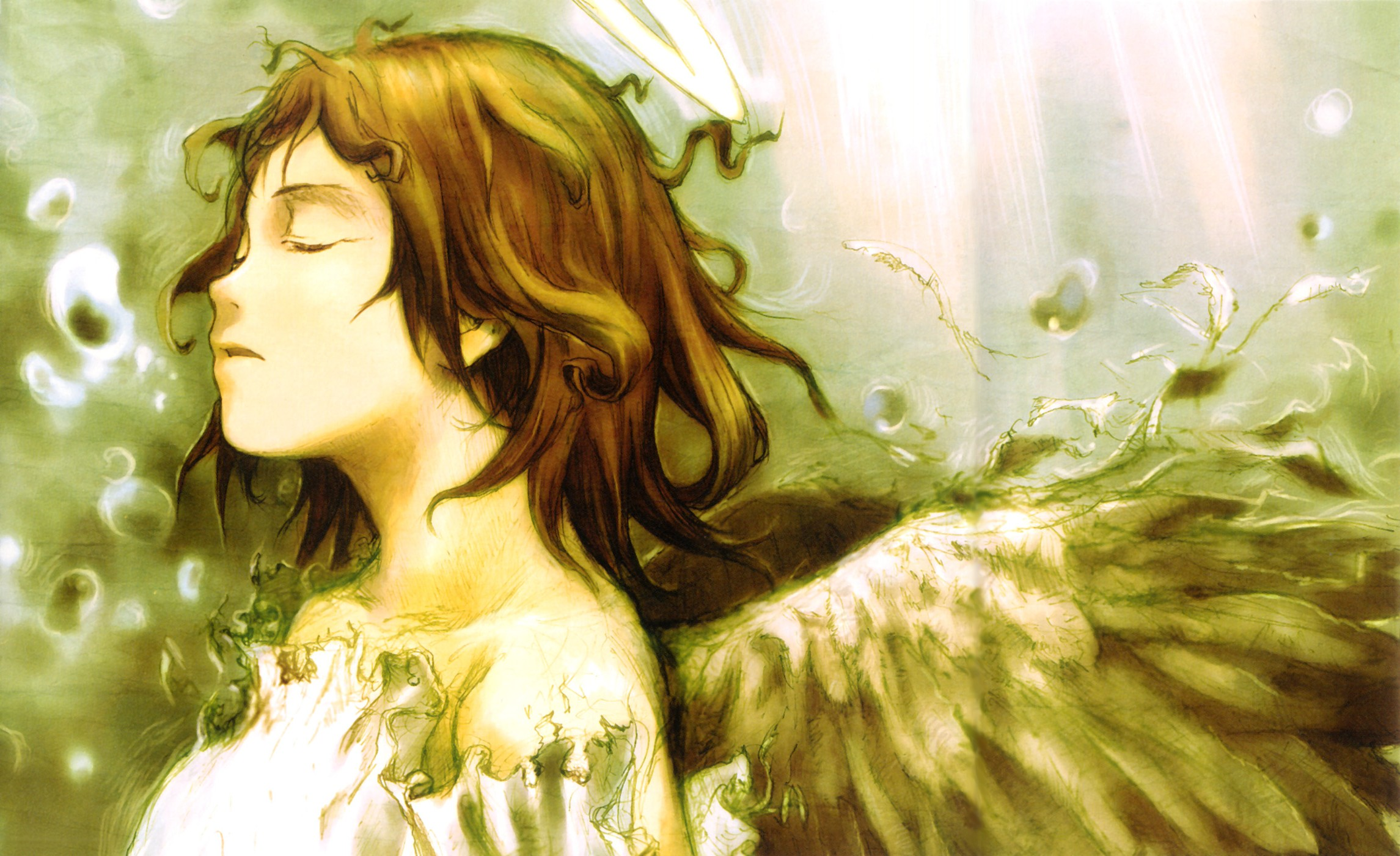 Haibane Renmei: The Complete Series Review | The Glorio Blog