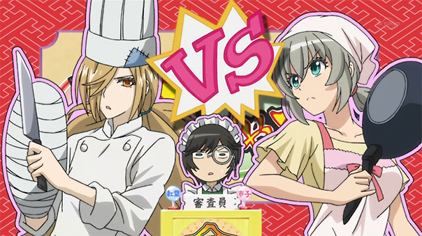 You can never go wrong with a cooking battle