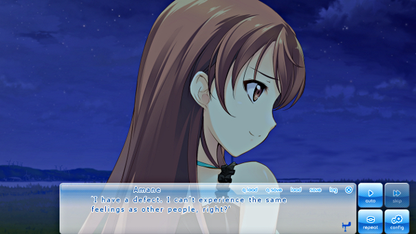 Amane actually has a warm personality, but isolation because of her own genius has kept her from realizing it.