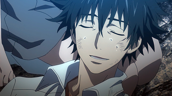 Touma is powered by tsundere tears