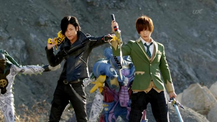 [Over-Time] Voltasaur Team Kyoryuger - 47 [BDB4B4D4].mkv_snapshot_15.46_[2014.02.07_01.32.51]