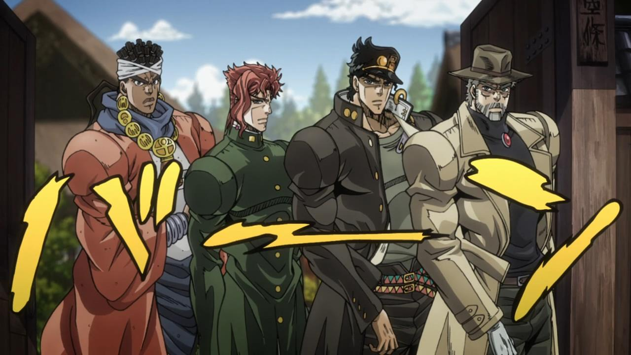 jojo  stardust crusaders episode 2 and 3