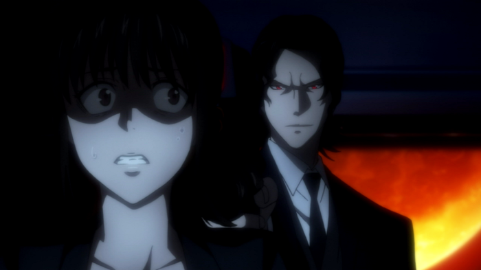 Psycho-Pass - Is that a completely harmless gun against my head or are you just happy to see me?