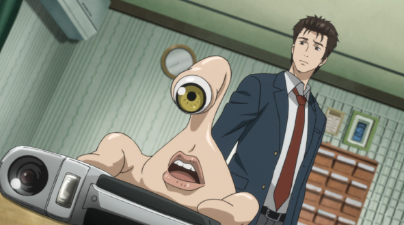 Image result for migi parasyte