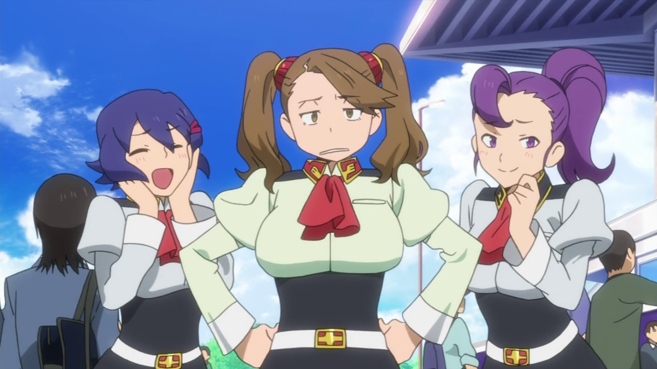 Gundam build fighters try episode 23 the glorio blog for Domon gundam build fighters try