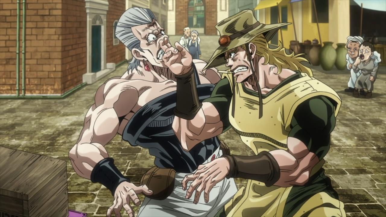 The Magical Thing Is Though Its Scramble Which What Makes Stardust Crusaders So Truly Special Freed Of Restriction A Direct Sequel To His