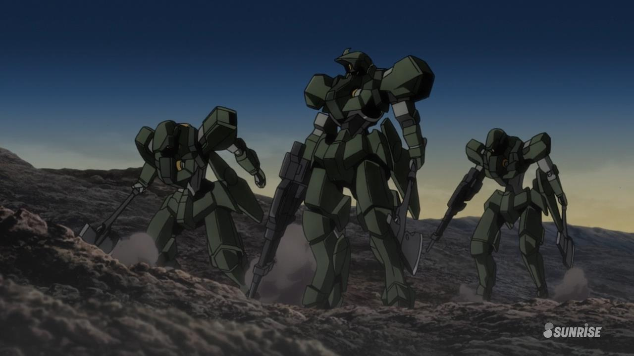 [Shonen] Mobile Suit Gundam : Tekketsu no Orphans Tekketsu1graze
