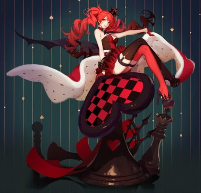 Image result for queen of hearts