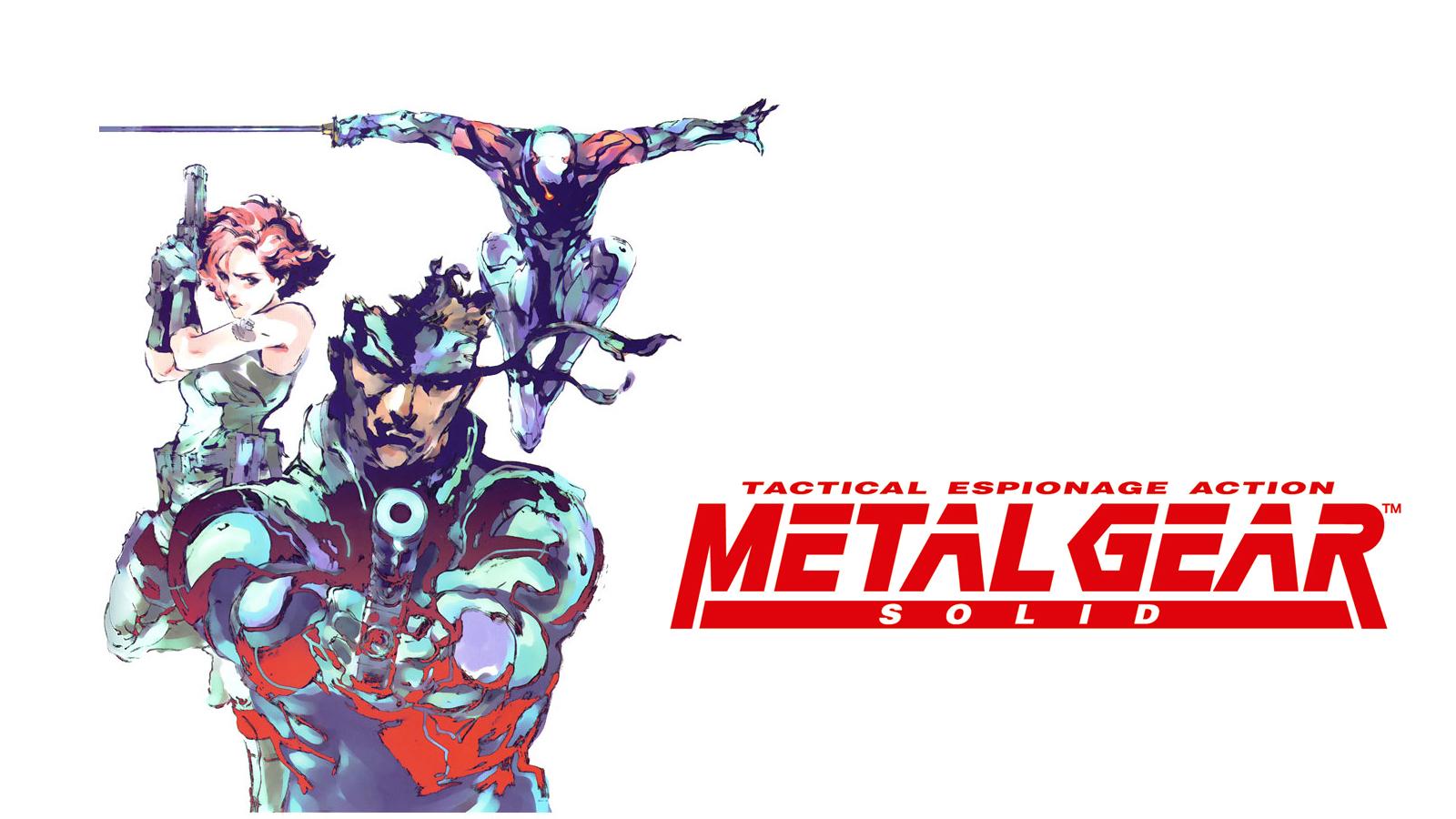 Metal Gear Solid 1 Desktop Wallpaper I Edited Together
